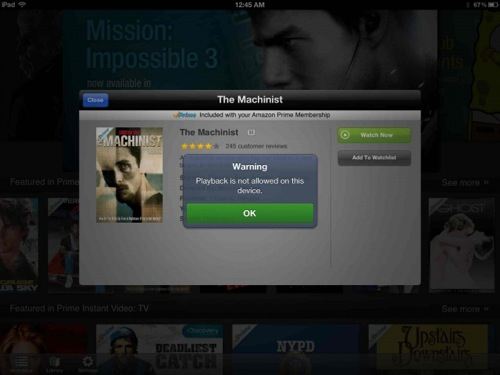 iPad Movie Streaming