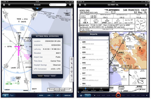 Jeppesen Flight Deck app