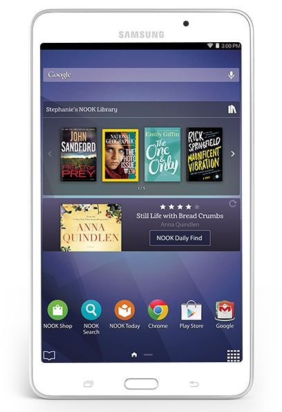 Samsung Galaxy 4 Nook