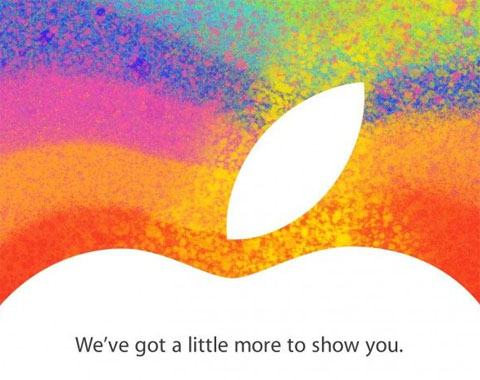 iPad Mini keynote invite