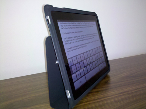 apple ipad case review