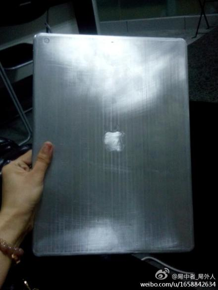 iPad Pro prototype surfaces.