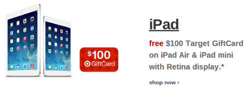 Target iPad Air Deal
