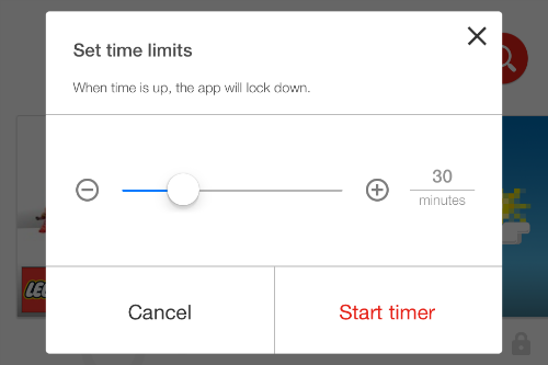 YouTube Kids Timer