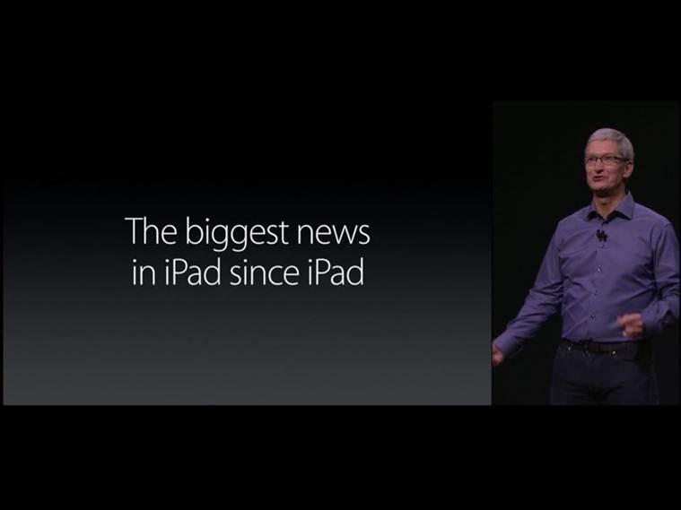Tim Cook iPad Pro