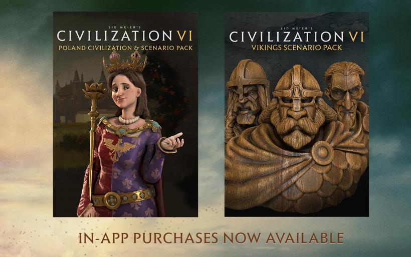 Poland Civilization and  Vikings Scenario Packs
