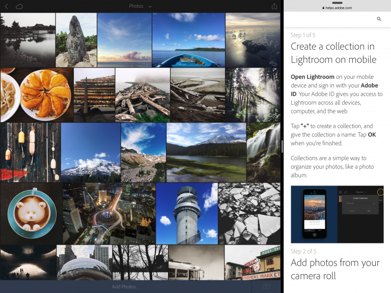 Lightroom for mobile 2.1