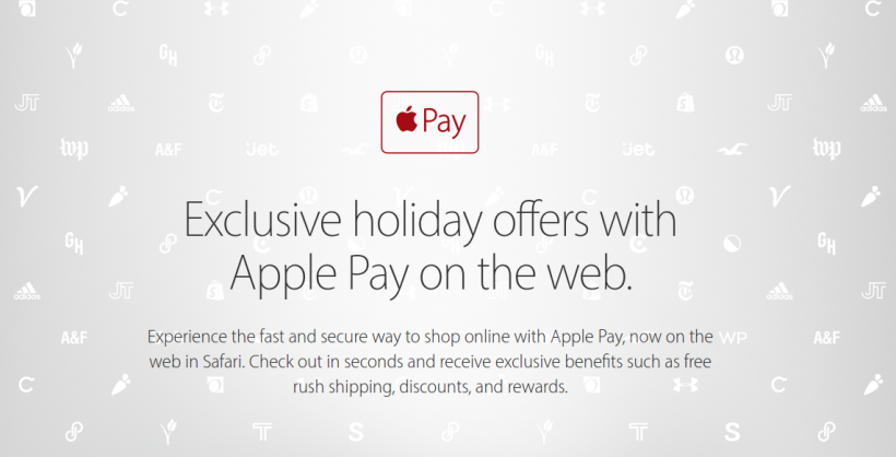 Apple Pay Holiday Deals 2016
