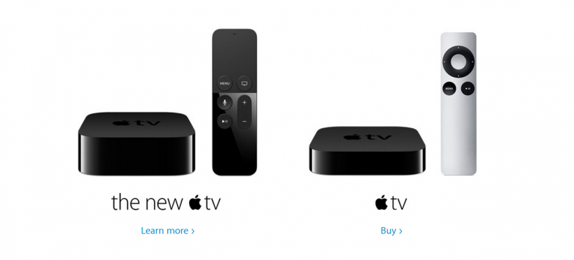 what is the difference between the apple tv 4 and apple tv. Black Bedroom Furniture Sets. Home Design Ideas