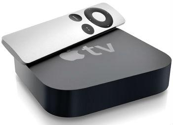 The 3rd generation Apple TV does not have built-in storage but the 4th generation will.