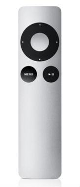 The Apple TV remote can be bought separately at the Apple Store.