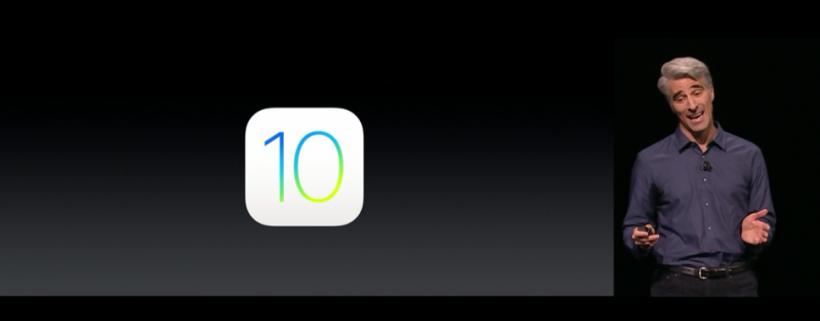 iOS 10 Keynote