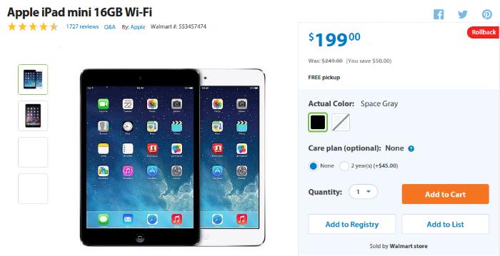 outlet store e3f68 d903e Walmart | The iPad Guide