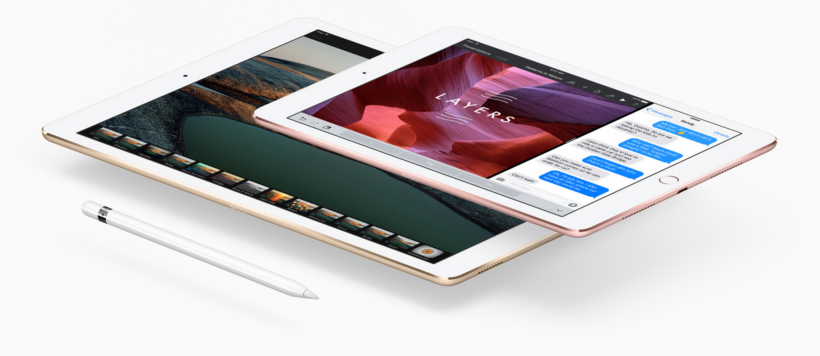 2016 iPad Pro Lineup