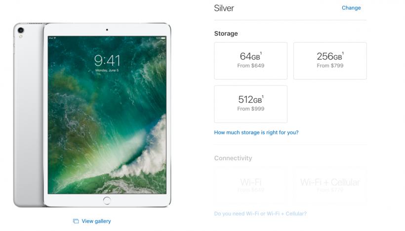 iPad Pro Price Change