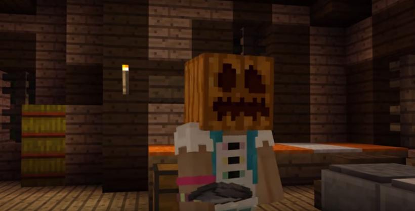Minecraft Halloween 2017