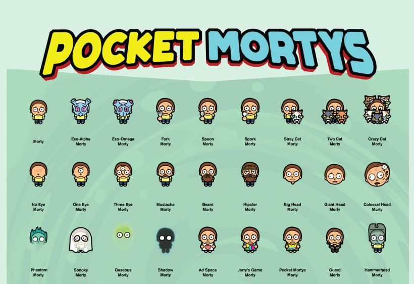 Crafting Guide For Pocket Mortys