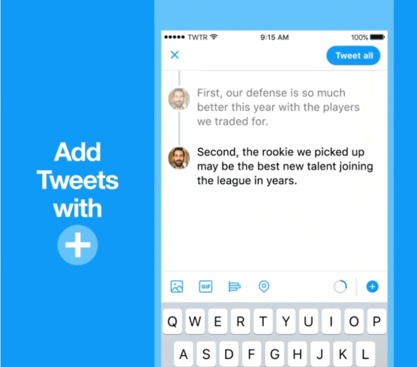 Twitter Now Lets You Natively Send Tweetstorms